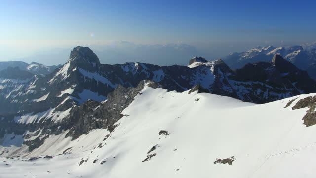 panning timelapse across mountains range