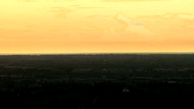 HD: Panorama in der Abenddämmerung