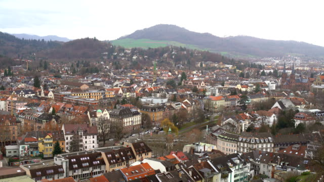 Panorama Freiburg in Germany