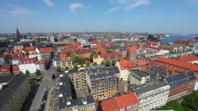 Panorama of Copenhagen, Denmark