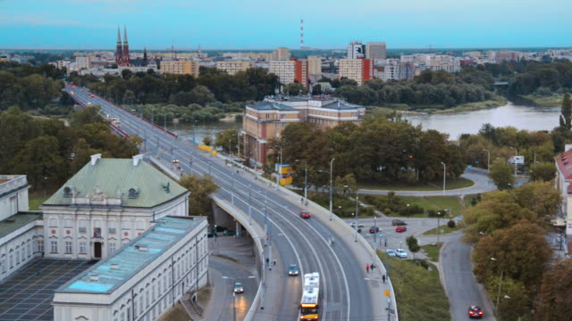 panorama of vistula river - poland stock videos and b-roll footage