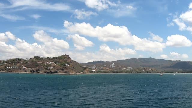stockvideo's en b-roll-footage met panorama-san juan del sur, nicaragua - nicaragua