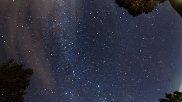 panoramic night sky - heaven stock videos & royalty-free footage