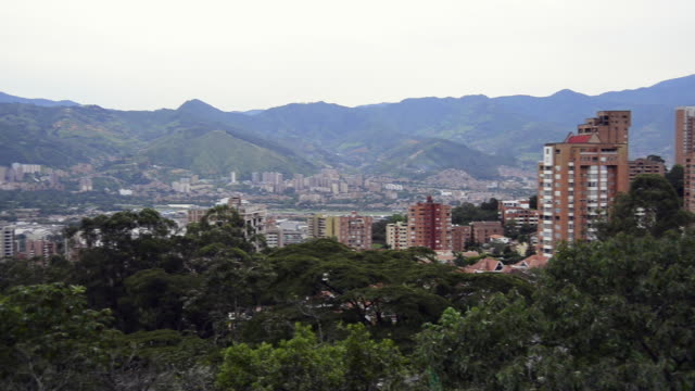 Panoramic of Medellin, Colombia