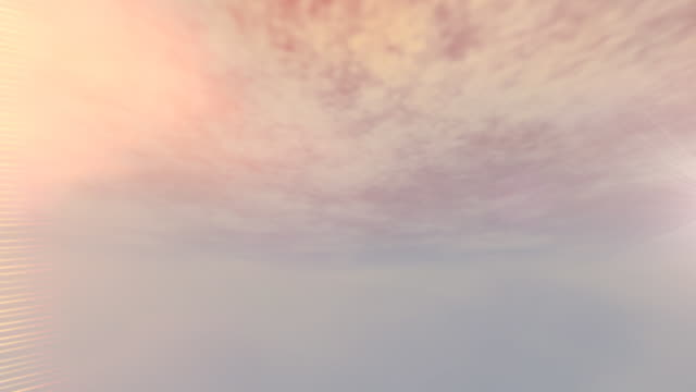 vídeos de stock, filmes e b-roll de panorâmica céu loop hd - parélio