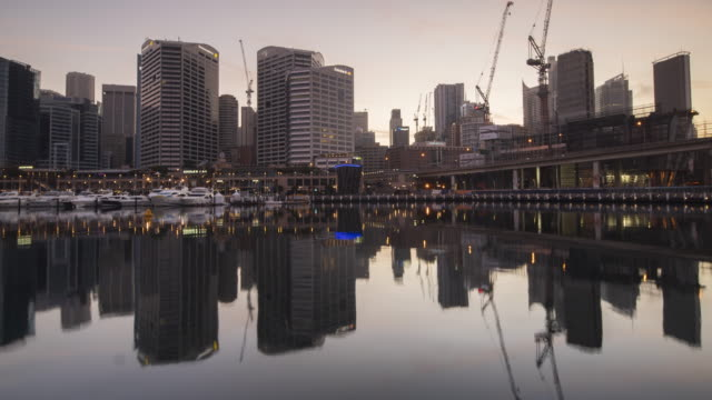 Panoramic Sydney town from Darling Harbour, Sydney