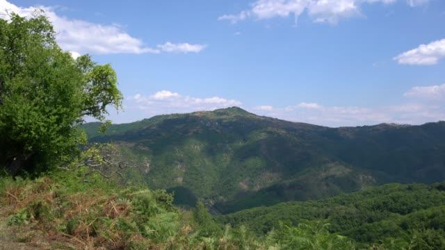 panoramic view of eastern rhodope mountains in bulgaria - pavel gospodinov stock videos & royalty-free footage