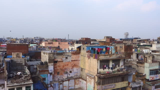 Panoramic View of New Delhi Street life