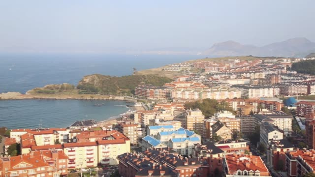 Panoramic view of the city of Castro Urdiales