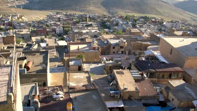 panoramic view of the city of mardin in southeast anatolia region, turkey - anatolia stock videos and b-roll footage
