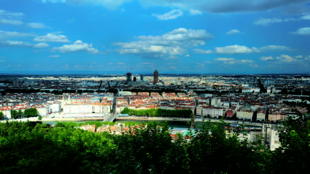 Panoramic view of the France Lyon