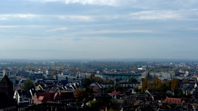 Panoramic view of the France Strasbourg