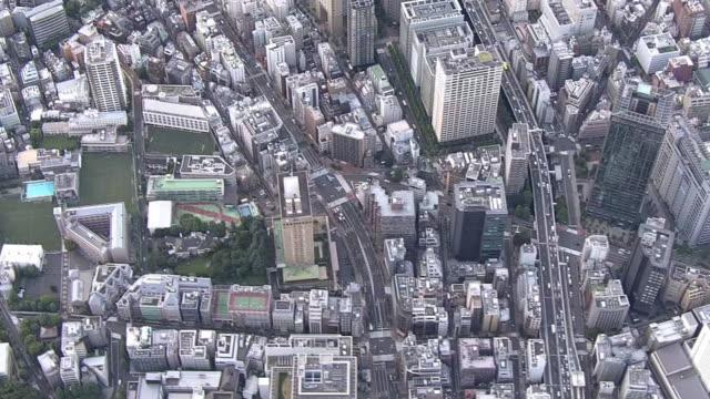 AERIAL, Panoramic View Of Tokyo, Japan