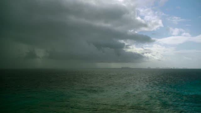 Panoramic View of Upcoming Storm