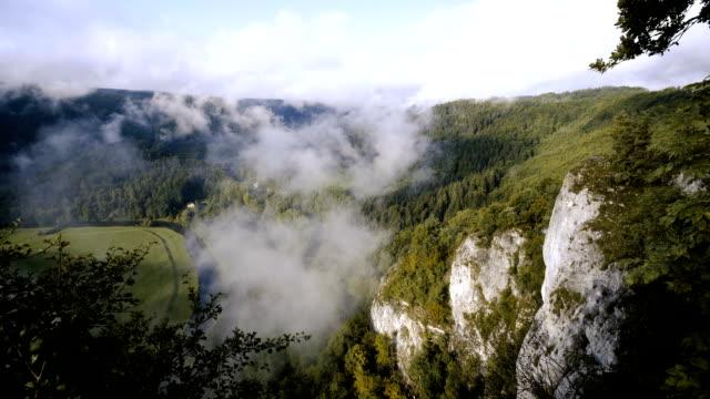 Panormaic uitzicht op de Donau-vallei