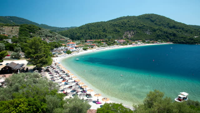 Panormos beach, Skopelos island, Greece