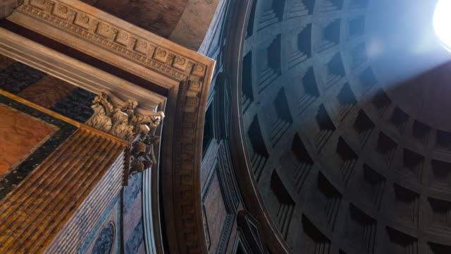 pantheon in rome - pantheon rome stock videos and b-roll footage