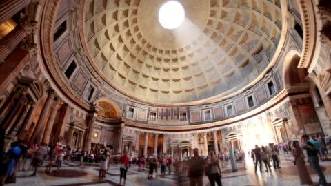 pantheon, rome, italy - 義大利文化 個影片檔及 b 捲影像