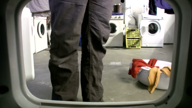 "pants down! ""inside the washer"" hd - men's underpants stock videos and b-roll footage"