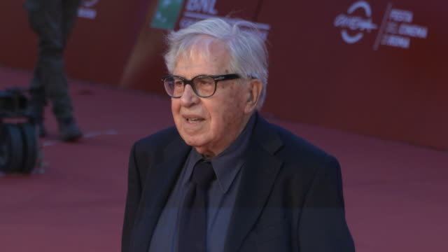 paolo taviani at martin scorsese red carpet 13th rome film fest at auditorium parco della musica on october 20 2018 in rome italy - rome film fest stock videos and b-roll footage