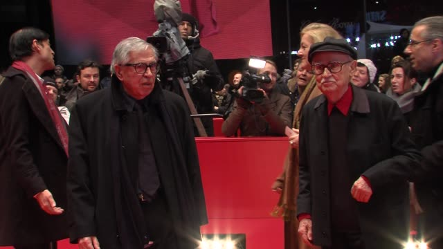 paolo taviani vittorio taviani at the closing ceremony 62nd international berlin film festival at berlinale palace on february 18 2012 in berlin... - paolo taviani stock videos and b-roll footage