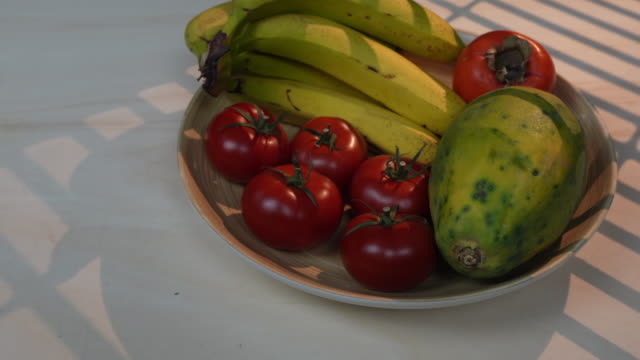 papaya - fruit bowl stock videos & royalty-free footage