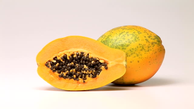 papaya - papaya stock videos & royalty-free footage