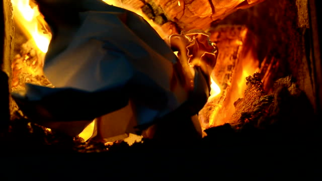 paper ball burning - burning stock videos & royalty-free footage