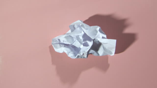 paper ball unwrapping HD