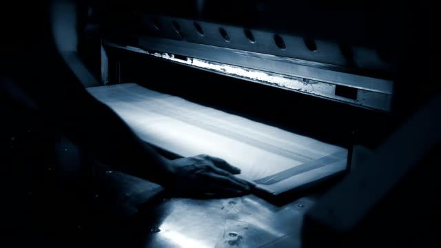 paper cutting machine - adjusting stock videos & royalty-free footage