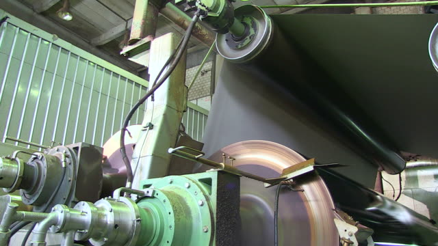 MS Paper machine at paper mill / Weener, Lower Saxony, Germany