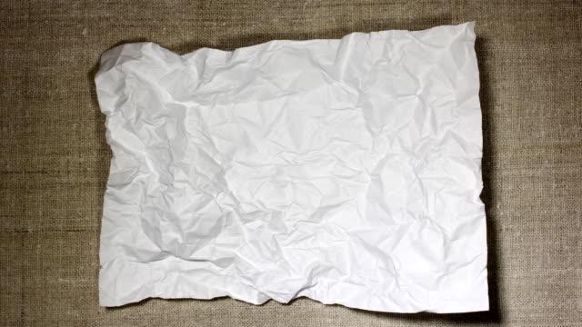 papieraufzeichnungen - papier stock-videos und b-roll-filmmaterial