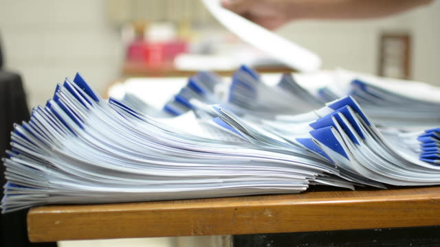 paperwork - paperwork stock videos & royalty-free footage