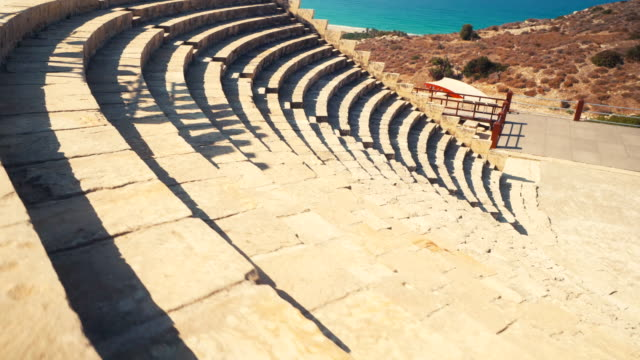 stockvideo's en b-roll-footage met paphos archaeological park in cyprus - repubiek cyprus