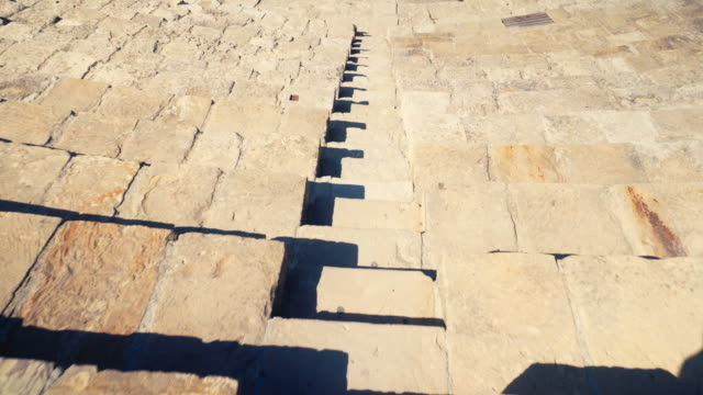 stockvideo's en b-roll-footage met paphos archaeological park in cyprus - amfitheater