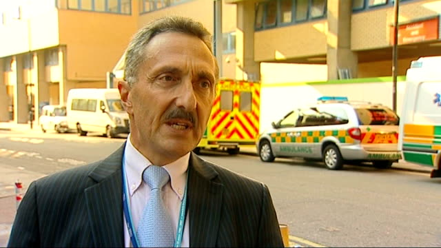 paracetamol possible link with asthma ext professor john warner interview sot - paracetamol stock videos and b-roll footage
