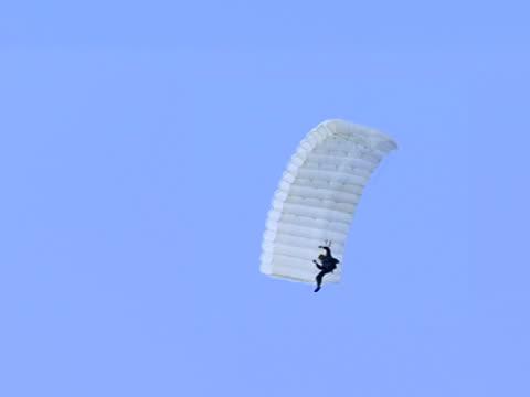 Parachute in Air