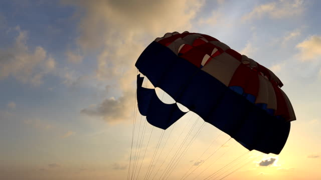 parachute - parachuting stock videos and b-roll footage