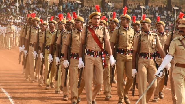 parade of india republic day - army soldier stock videos & royalty-free footage