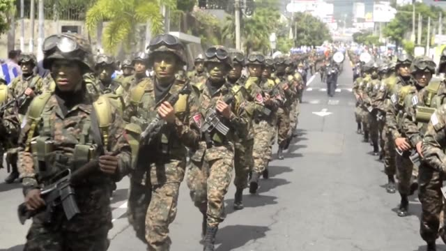 Parades commemorating the 194th anniversary of independence from Spain take place across central America