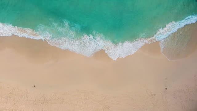 paradise beach aerial viev - bali stock videos & royalty-free footage