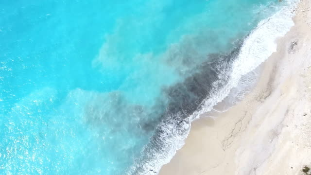Paradise beach luchtfoto viev