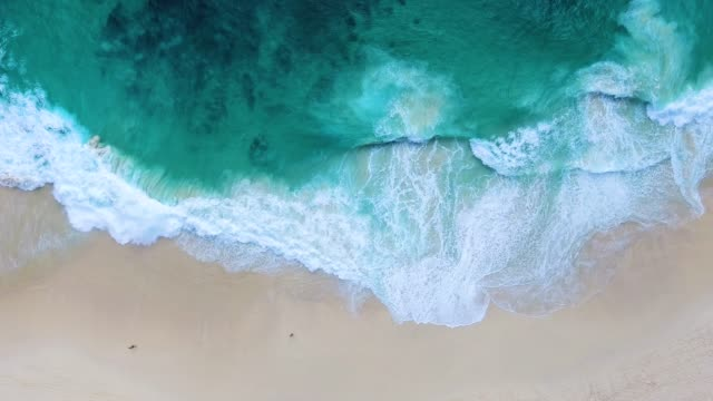 paradise beach aerial viev - bali stock videos & royalty-free footage