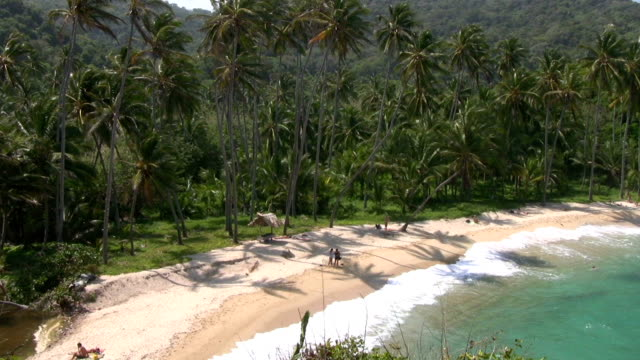 hd: paradise beach - colombia stock videos & royalty-free footage