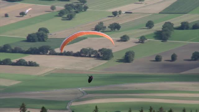 Paragliding in Jura mountains