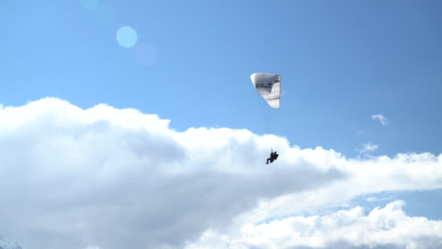 paragliding - risk stock videos and b-roll footage