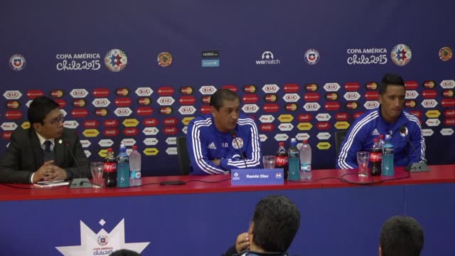 Paraguay will not be satisfied with a draw only a victory in their Copa America game against Uruguay Saturday say coach Ramon Diaz and forward Lucas...