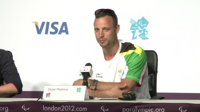 Paralympic runner Oscar Pistorius who competed in the Olympic Games earlier this month says he is 'honoured' to be carrying the flag for South Africa...