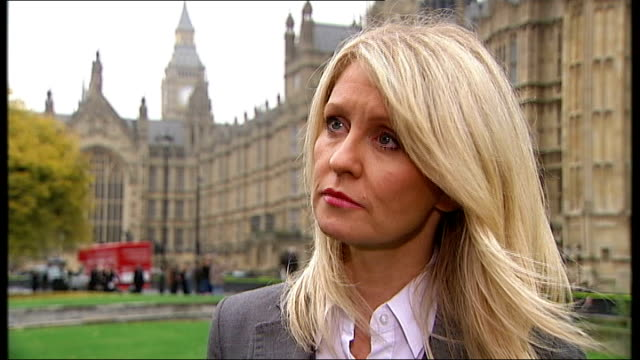 Impact of disability benefits cuts Fisher coaching basketball team from wheelchair Westminster EXT Esther McVey MP interview SOT Miller at home with...