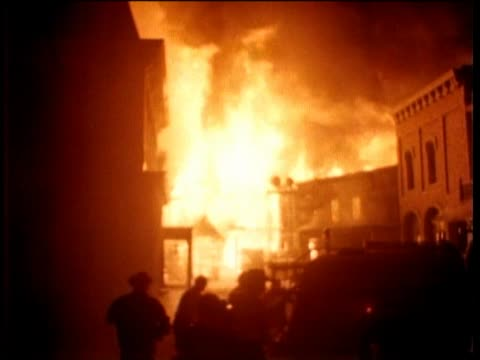 paramount studios fire breaks out in the middle of the nevada smith party steve mcqueen jumps in and helps the firemen - paramount studios stock videos & royalty-free footage